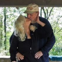 My beloved husband Rick and me in Hot Springs National Park, Arkansas