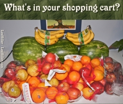 Smoothies Whats In Your Shopping Cart