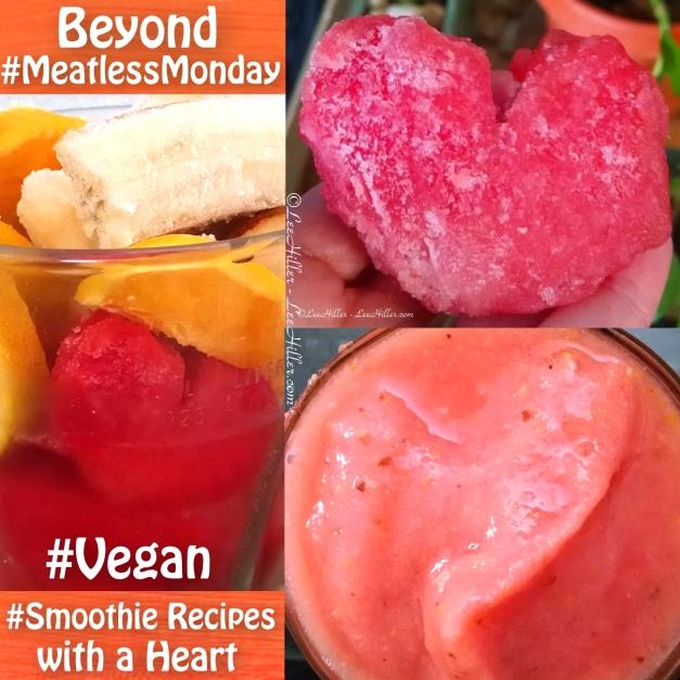 #Raw #Vegan Heart Happy Smoothie