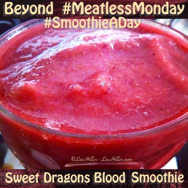 Sweet Dragons Blood #Raw #Vegan #Smoothie
