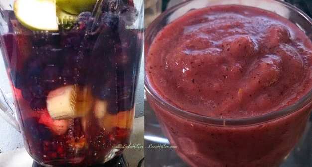 Cranberry Fruit Cocktail Smoothie