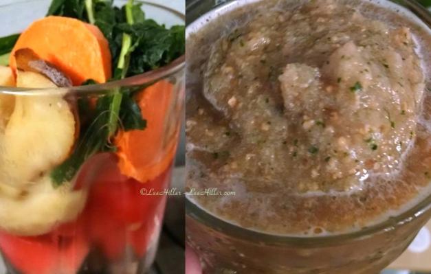 Lacinato Kale Pear Smoothie