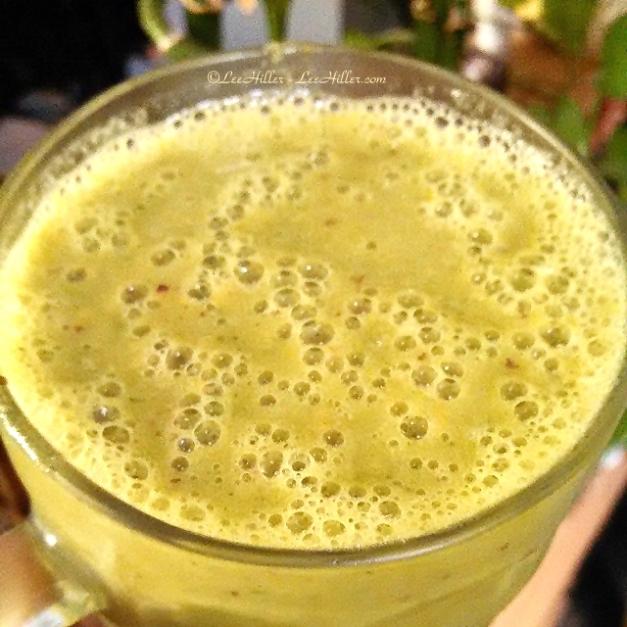 Lemon Lime Kale #Vegan Protein #Smoothie