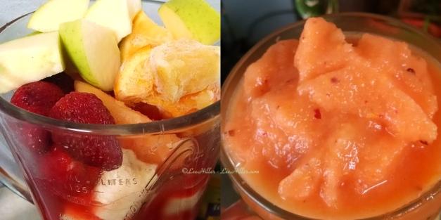Melon Berry Citrus Fruit Cocktail Smoothie
