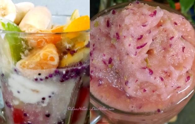 #Raw #Vegan Beautyberry Citrus Melon #Smoothie
