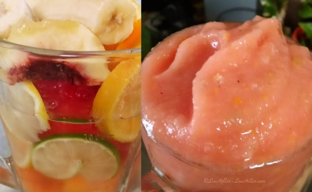 Dreamy Citrus Melon Peach Smoothie