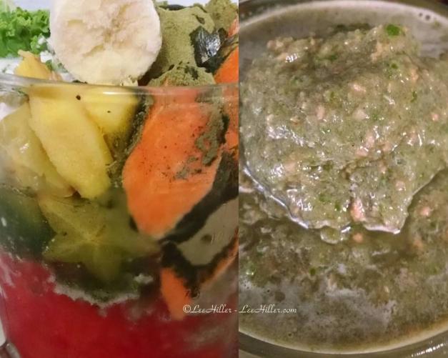 Ginger Kale Star Fruit Superfoods #Vegan #Protein #Smoothie