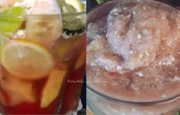#Raw Star Fruit Ginger Berry Melon #Vegan #Protein #Smoothie