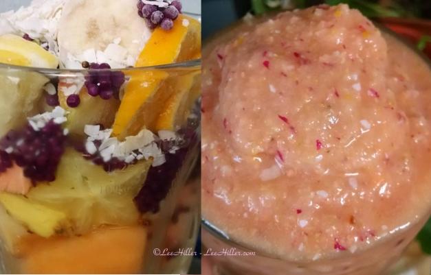 #Raw #Vegan Beautyberry Ginger Citrus Melon #Smoothie