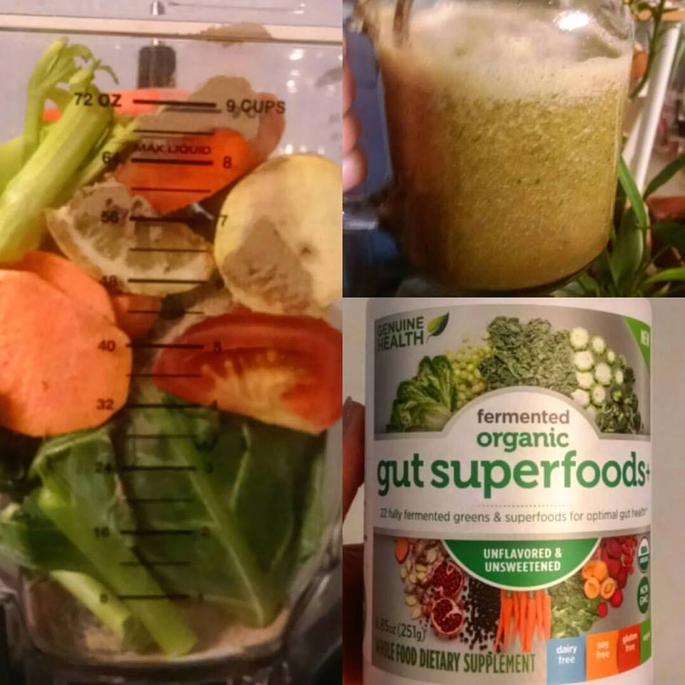 Genuine Health has created the ultimate fermented green superfood
