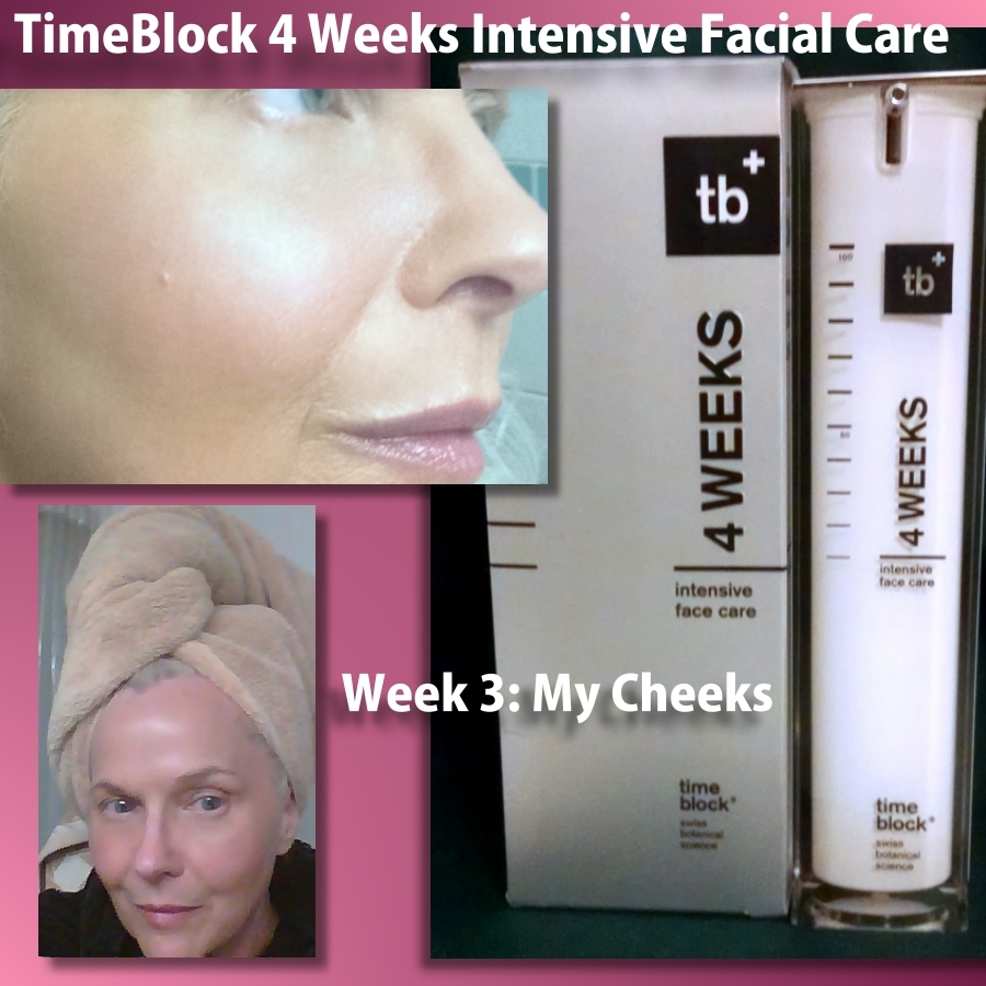 TimeBlock 4 Weeks Intensive Face Care – Week 3 My Cheeks